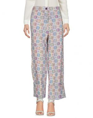 Повседневные брюки NORA BARTH. Цвет: светло-серый