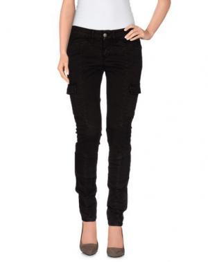 Повседневные брюки GOOD MOOD. Цвет: темно-коричневый