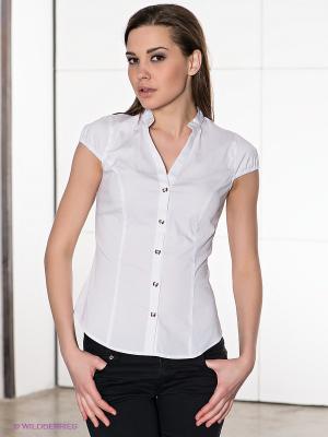 Блузка Conver Vintage. Цвет: белый