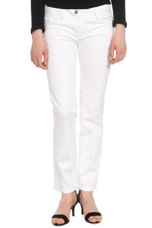 Брюки Versace Jeans Couture. Цвет: белый