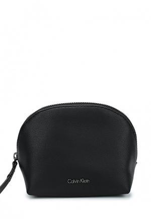 Косметичка Calvin Klein Jeans. Цвет: черный