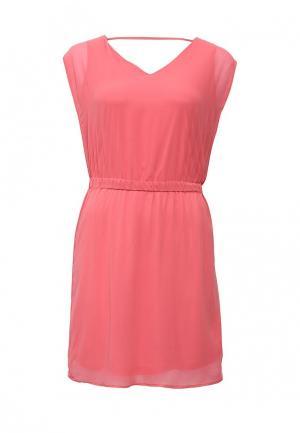 Платье Sela. Цвет: коралловый
