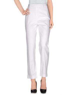 Повседневные брюки BIBI. Цвет: белый