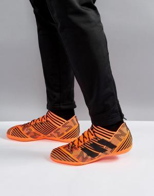 Adidas Оранжевые кроссовки Football Nemeziz Tango 17.3 by2815. Цвет: оранжевый