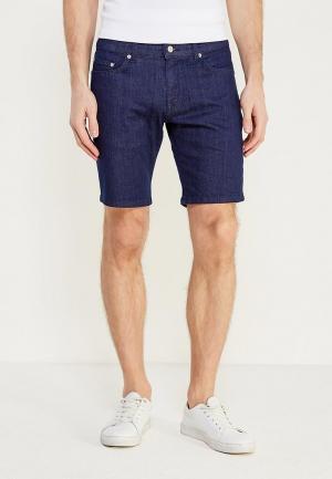 Шорты джинсовые Lacoste. Цвет: синий