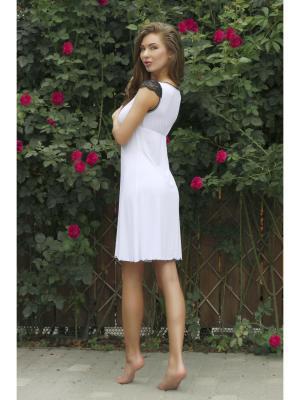 Ночная сорочка Анатель. Цвет: белый