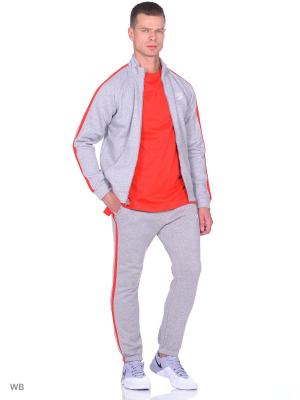 Спортивный костюм M NSW TRK SUIT FLC SEASON Nike. Цвет: светло-серый