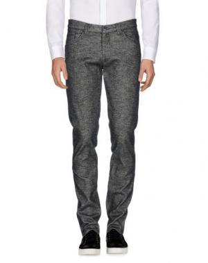 Повседневные брюки BARBATI. Цвет: стальной серый