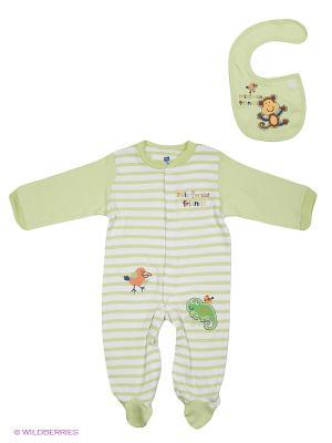 Комплект Hudson Baby. Цвет: светло-зеленый