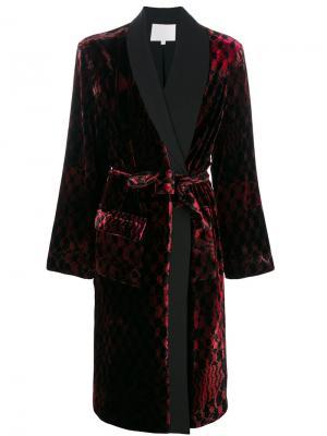 Пальто-халат Djunа Lala Berlin. Цвет: красный