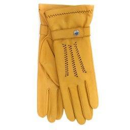 Перчатки  RIC_CELINEOL темно-желтый AGNELLE