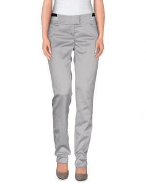 Повседневные брюки EXTE. Цвет: светло-серый