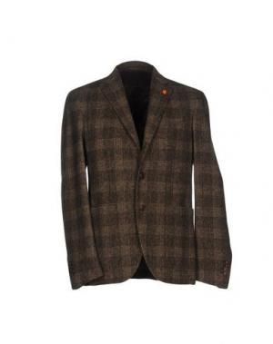 Пиджак REPORTER. Цвет: коричневый