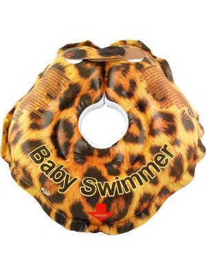 Круг ЛЕО (полноцвет) Baby Swimmer. Цвет: оранжевый