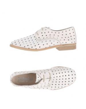 Обувь на шнурках FELMINI. Цвет: белый