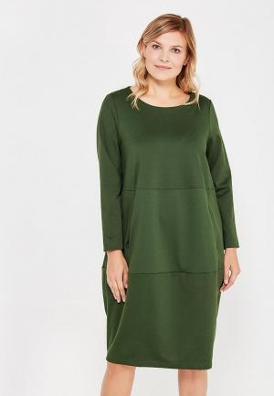 Платье Lina. Цвет: зеленый
