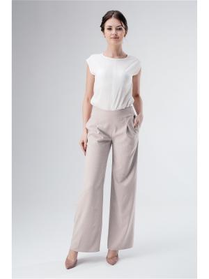 Женские брюки Fabric art. Цвет: светло-бежевый