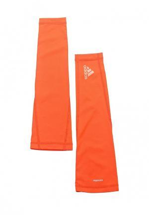 Рукав adidas Performance. Цвет: оранжевый