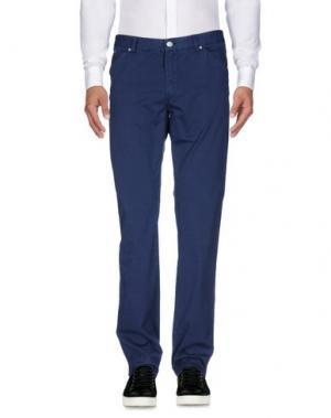 Повседневные брюки J.W. BRINE. Цвет: ярко-синий