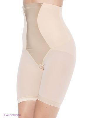 Панталоны корректирующие MAIDENFORM. Цвет: бежевый