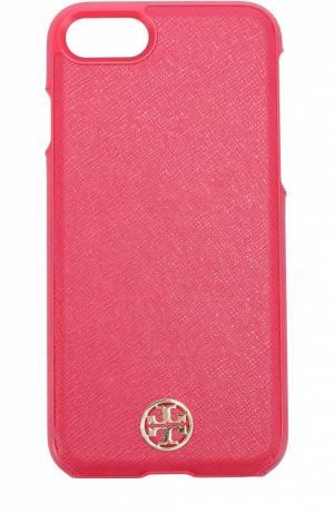 Чехол Robinson для iPhone 7 Tory Burch. Цвет: розовый