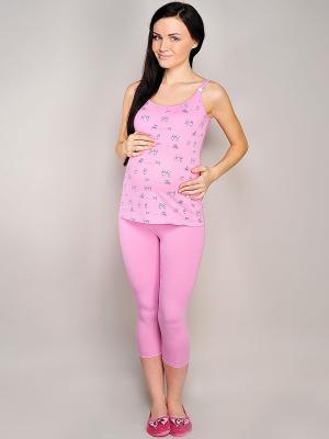 Пижама Hunny Mammy. Цвет: розовый
