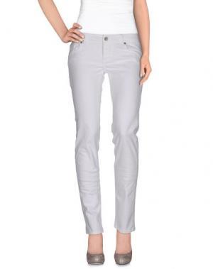 Джинсовые брюки BROOKSFIELD. Цвет: слоновая кость