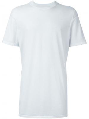 Классическая футболка 11 By Boris Bidjan Saberi. Цвет: белый