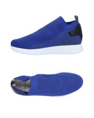 Низкие кеды и кроссовки ENRICO FANTINI. Цвет: ярко-синий