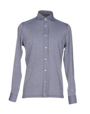 Pубашка GIAMPAOLO. Цвет: темно-синий