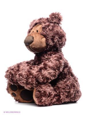 Игрушка мягкая Philbin Bear Gund. Цвет: темно-коричневый