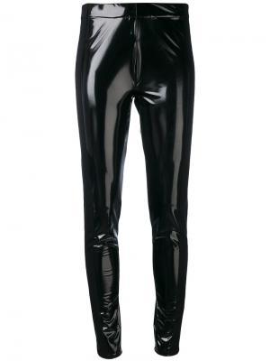 Облегающие брюки Piston A.F.Vandevorst. Цвет: чёрный