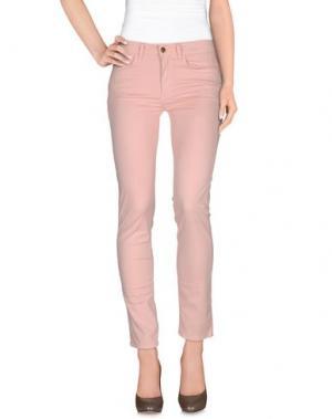Повседневные брюки REBEL QUEEN. Цвет: розовый
