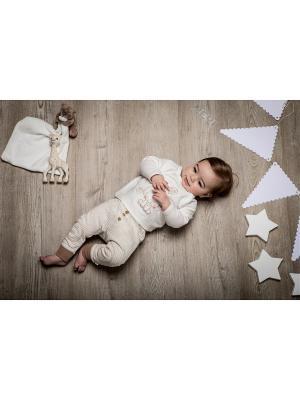 Комплект нательный для малыша BABALUNO. Цвет: кремовый, бежевый