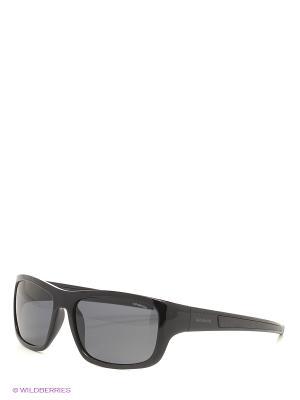 Солнцезащитные очки Polaroid. Цвет: черный