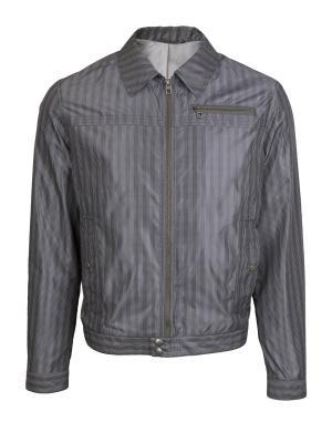 Куртка Slim БТК. Цвет: серый