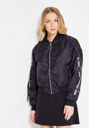 Куртка Jennyfer. Цвет: черный