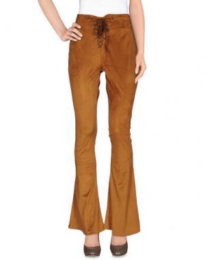 Повседневные брюки JOVONNA. Цвет: коричневый