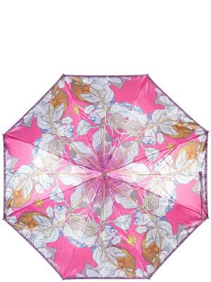 Зонт Eleganzza. Цвет: фуксия, светло-серый, хаки