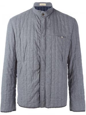 Стеганая куртка с воротником-мандарин Al Duca D'Aosta 1902. Цвет: серый