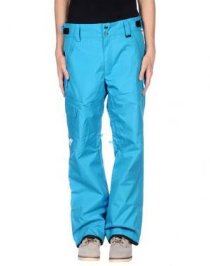 Повседневные брюки NEFF. Цвет: бирюзовый
