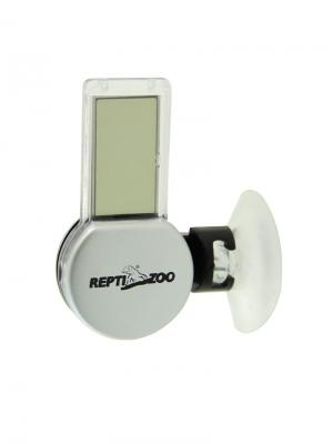 Термогигрометр электронный 64*33*29мм. REPTI-ZOO. Цвет: серый