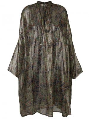 Платье-рубашка Cyclamen Mes Demoiselles. Цвет: многоцветный