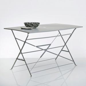 Стол прямоугольный складной из металла La Redoute Interieurs. Цвет: зеленое яблоко
