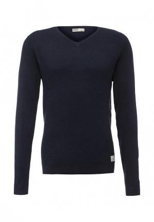 Пуловер E-Bound. Цвет: синий