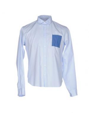 Pубашка D.R SHIRT. Цвет: лазурный