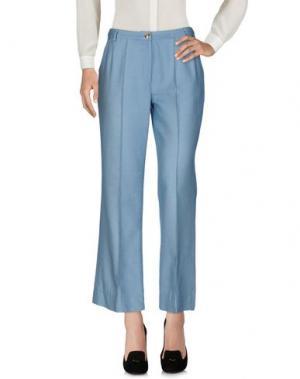 Повседневные брюки GIORGIO GRATI. Цвет: небесно-голубой