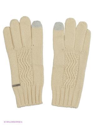 Перчатки ROXY. Цвет: белый
