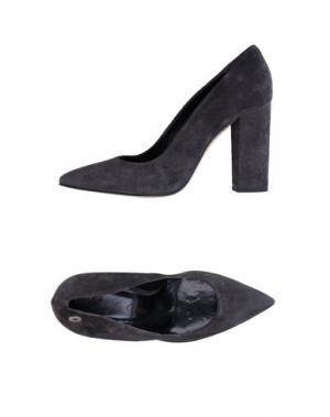 Туфли MANILA GRACE. Цвет: свинцово-серый