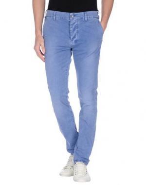 Джинсовые брюки MASON'S JEANS. Цвет: грифельно-синий